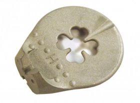 Centrklíč čtyřlístek 3,4 - 3,25 profi stříbrný