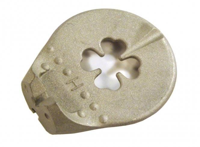 Centrklíč čtyřlístek 3,4 - 3,25 profi stříbrný Unior
