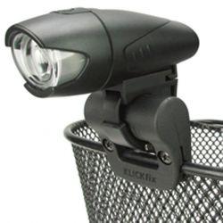 Držák na světlo KLICKFIX držák LightClip na košík
