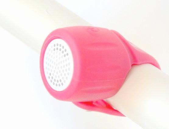 Elektronický zvonek EXTEND Amplion 3 zvuky pink