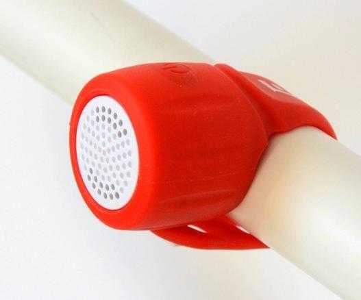 Elektronický zvonek EXTEND Amplion 3 zvuky red