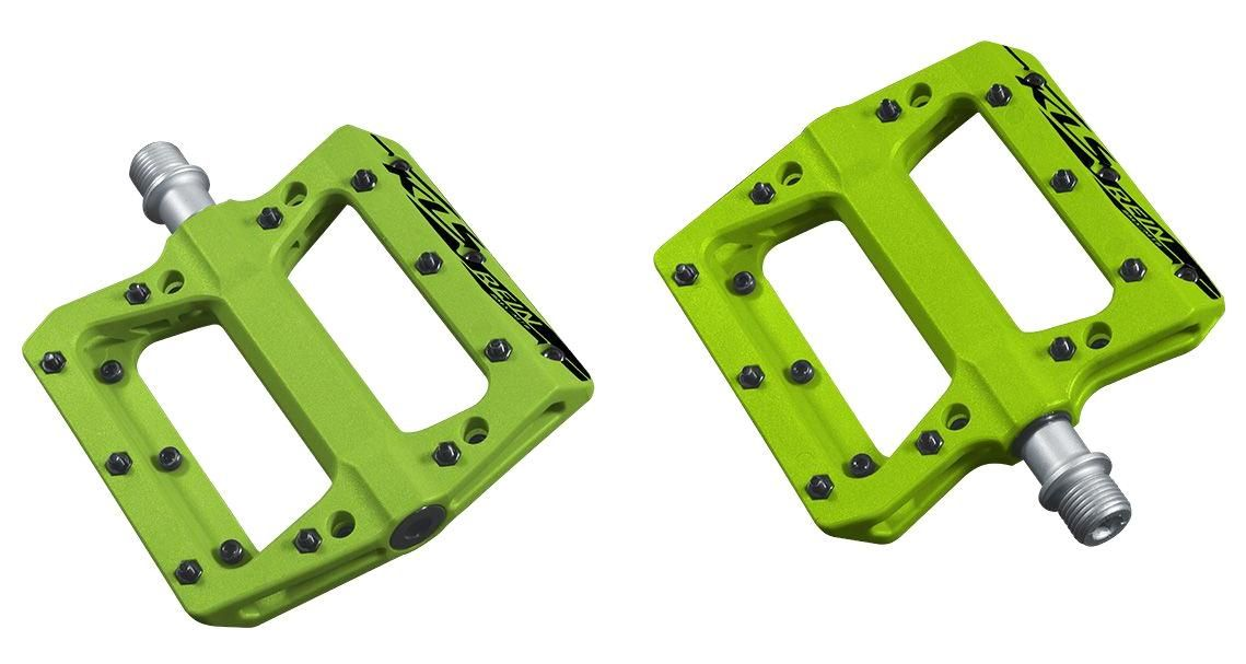 Pedály KLS REIN green Akce! Kellys