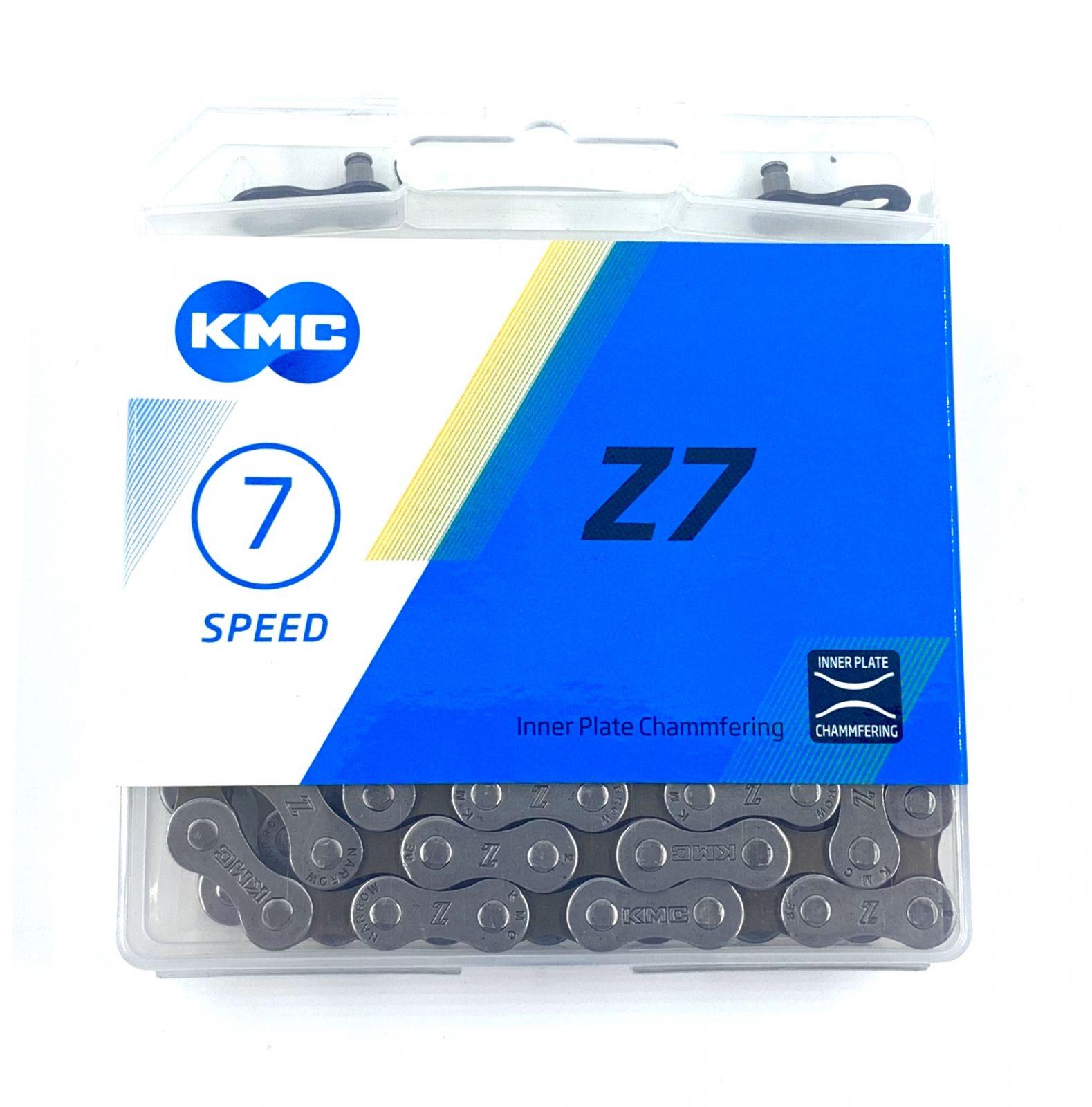 Řetěz KMC Z7 7/8 Speed + spojka