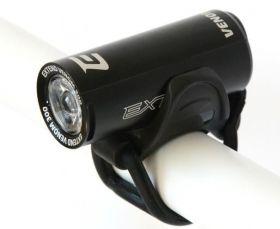 Světlo přední Venom 300 lůmenů 1x SuperBright LED USB černá
