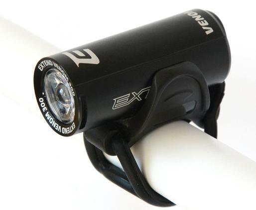 Světlo přední Venom 300 lůmenů 1x SuperBright LED USB černá Extend