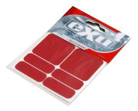 Reflexní samolepky 3M EXU - Shaman červená