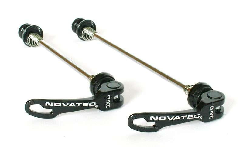 Rychloupínák Novatec QR249 set P+Z černá