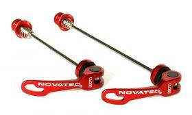 Rychloupínák Novatec QR249 set P+Z červený