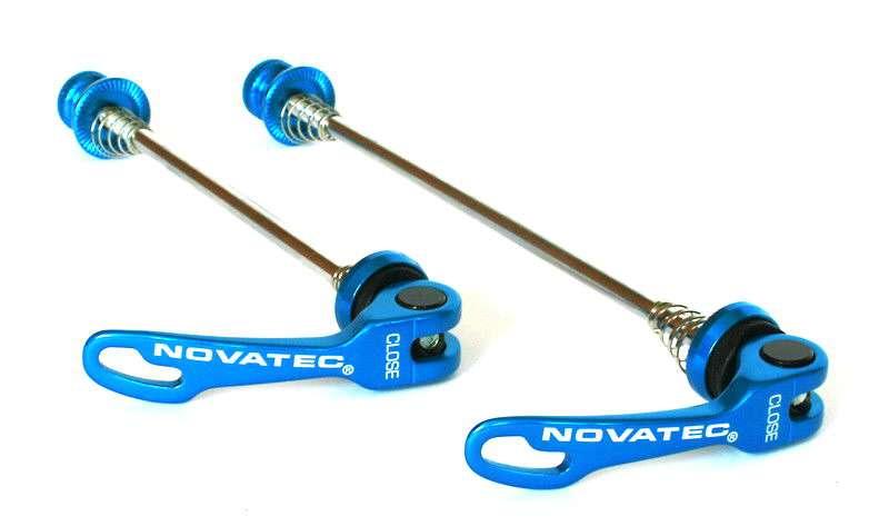 Rychloupínák Novatec QR249 set P+Z modrá