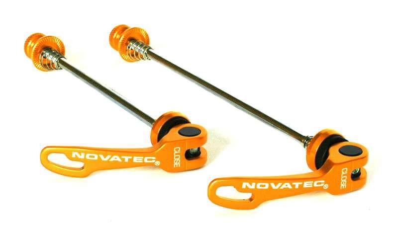 Rychloupínák Novatec QR249 set P+Z zlatěoranžová