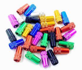 Čepičky na ventilek cnc FV galuskový 2 ks elox fialová