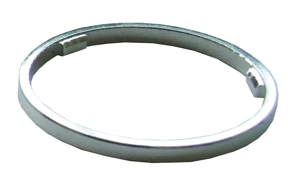 Distanční podložka za kazetu na ořech 1ks stříbrná bike parts