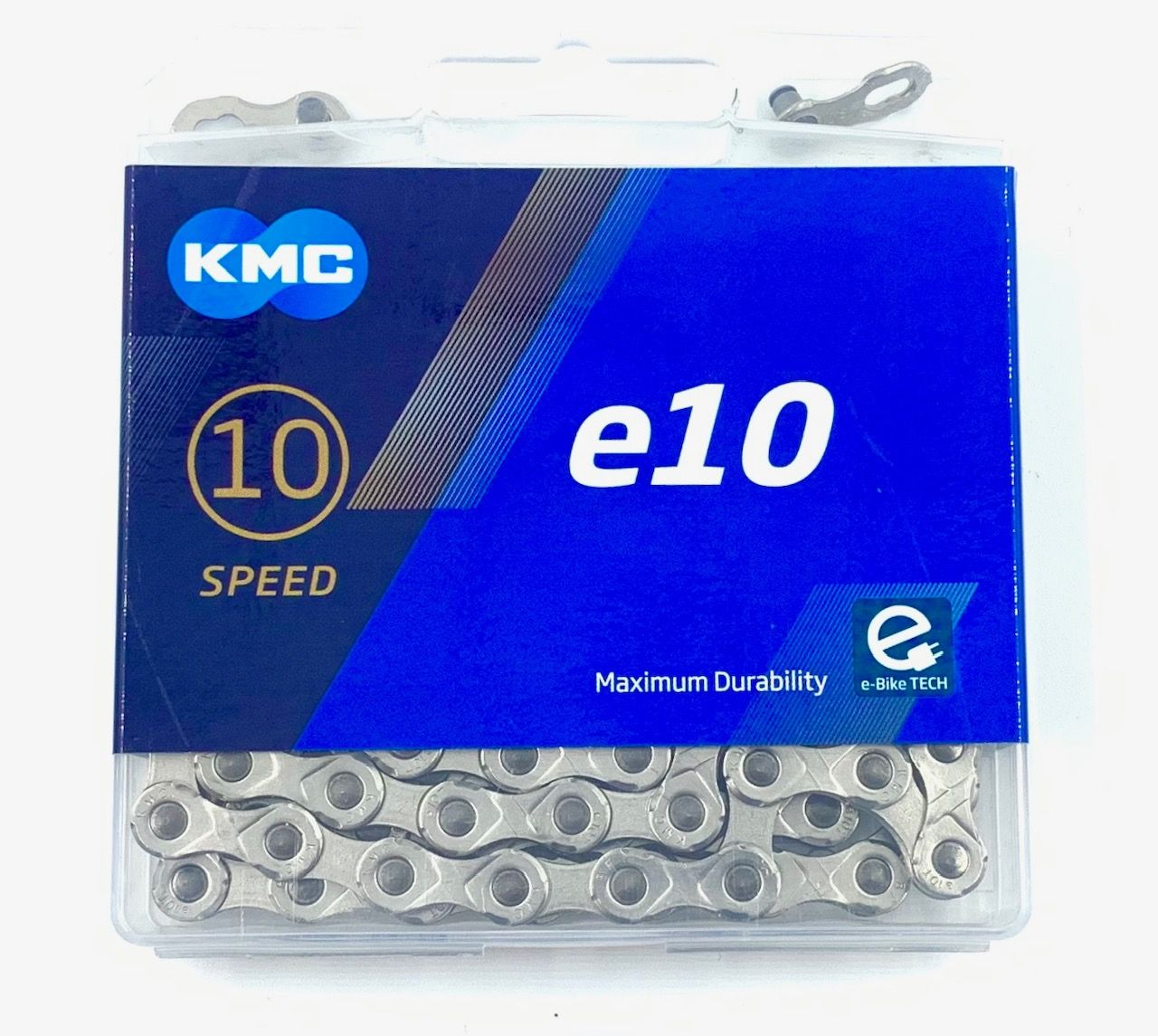 Řetěz KMC e10T 10 Speed + spojka na ELEKTROKOLO 136 článků