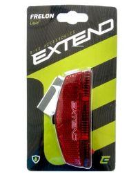 Světlo na zadní nosič Extend FRELON 2s SMD led s odrazkou