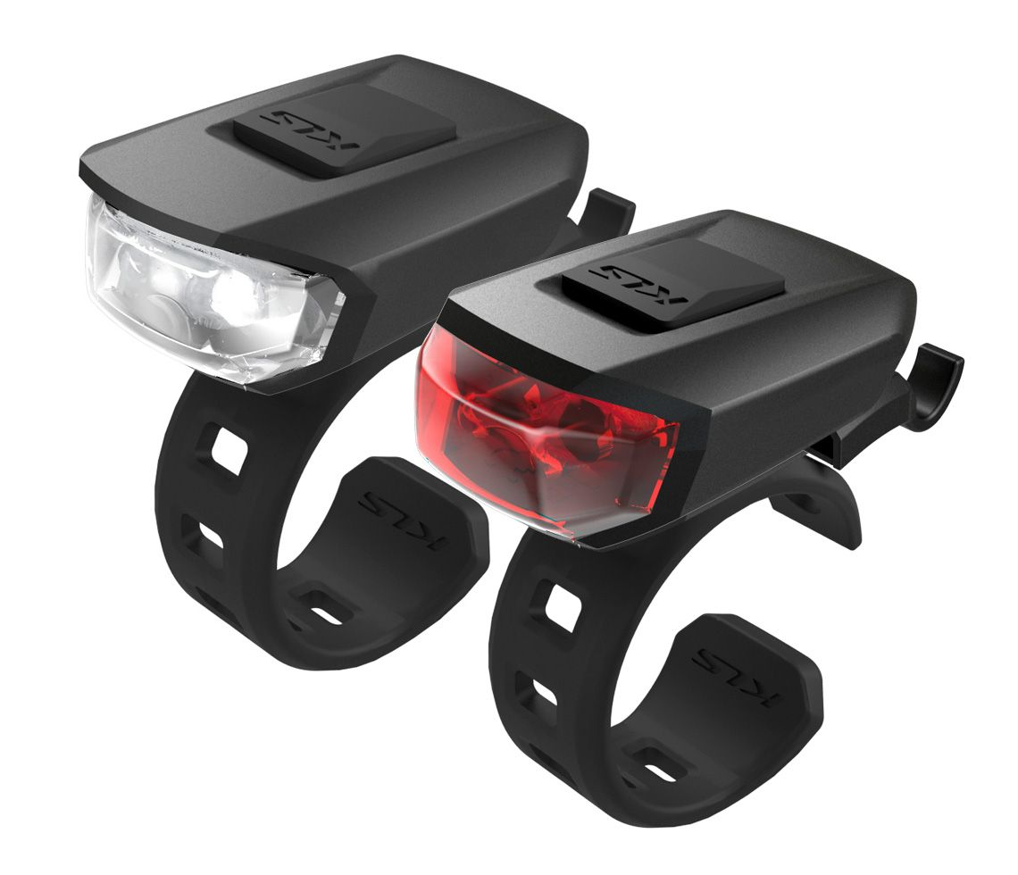 Osvětlení set KLS VEGA USB černá Kellys