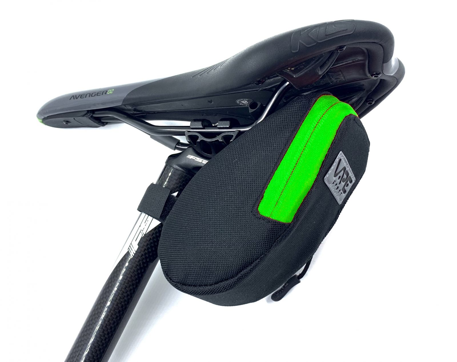 Brašna Vape M2 pod sedlo 17x8x7 cm reflex logo zelená