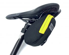 Brašna Vape M2 pod sedlo 17x8x7 cm reflex logo žlutá fluo
