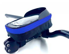 Brašna Vape Transformer na řídítka pro smartfone modrá