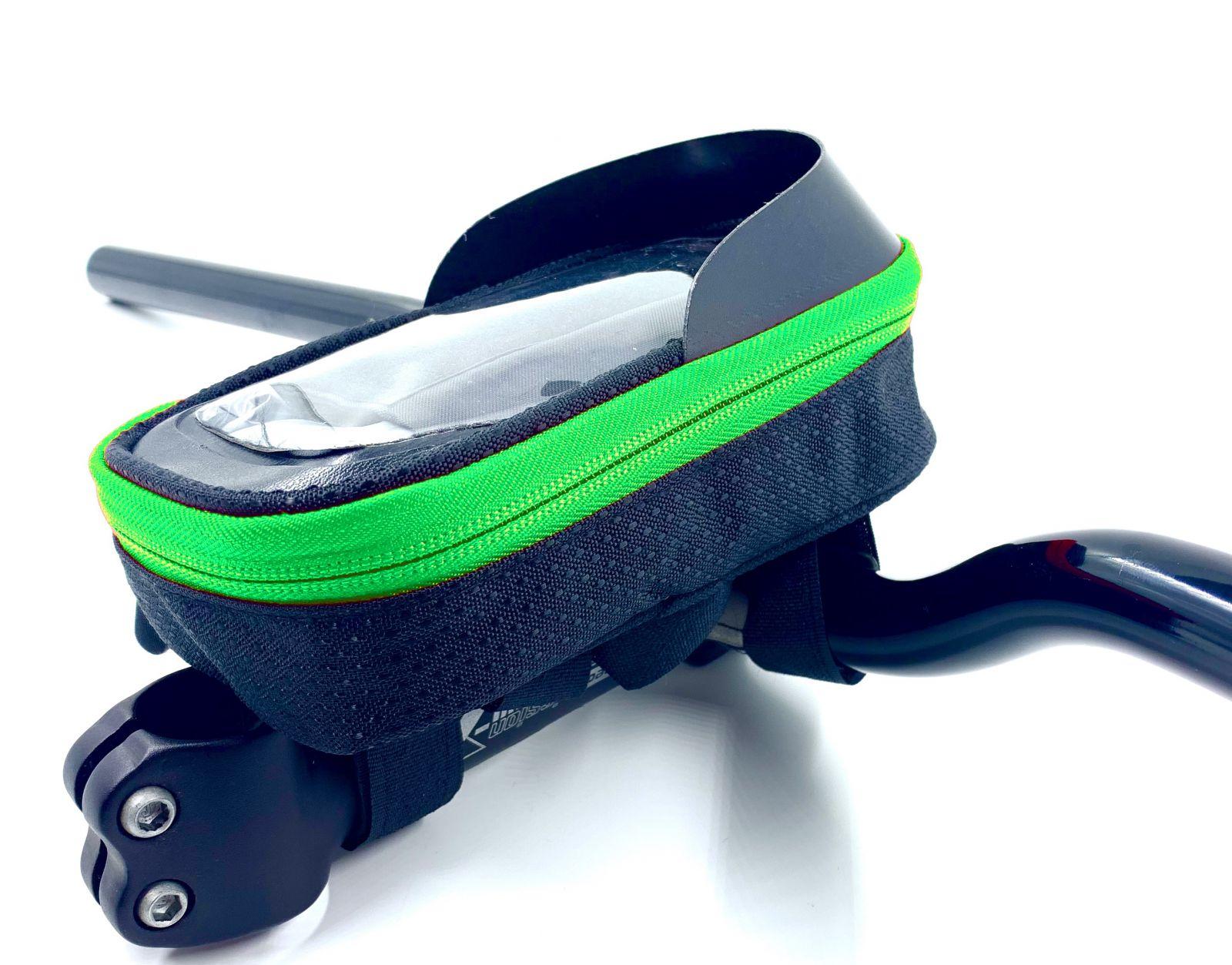 """Brašna Vape Transformer 5"""" na řídítka pro smartfone zelená"""