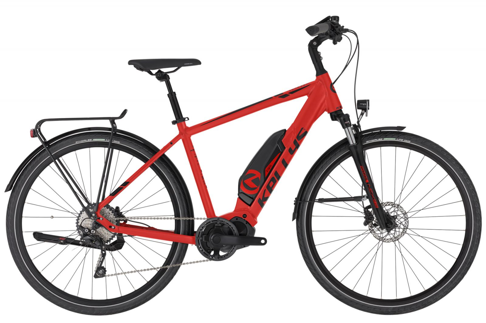 "KELLYS E-Carson 50 Red M 28"" Kellys Bicycles"