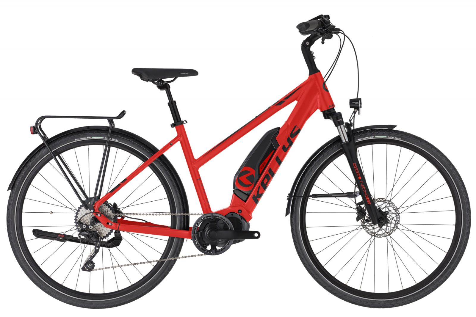 "KELLYS E-Cristy 50 Red S 28"" Kellys Bicycles"