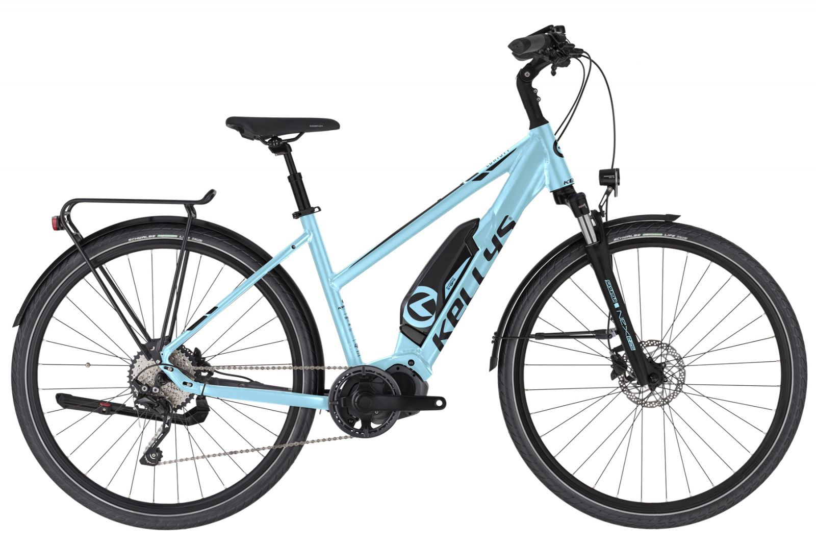 "KELLYS E-Cristy 50 Sky Blue M 28"" Kellys Bicycles"