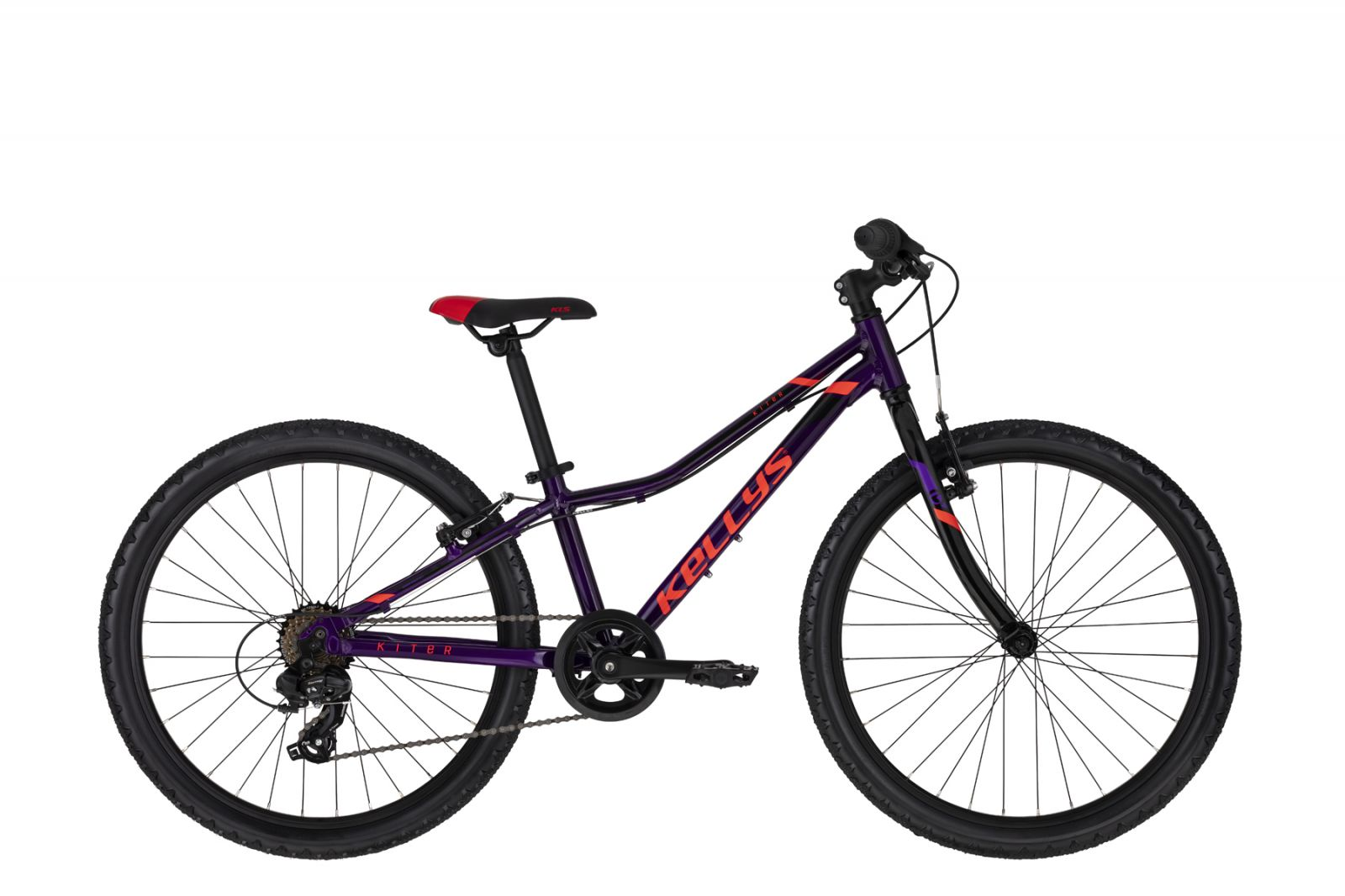 "KELLYS Kiter 30 Purple 11 24"" Kellys Bicycles"