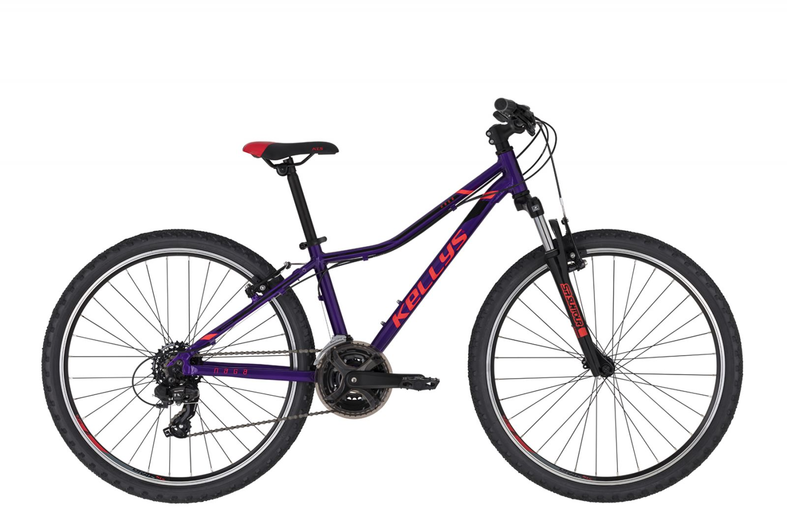 "KELLYS Naga 70 Purple 13.5 26"" Kellys Bicycles"