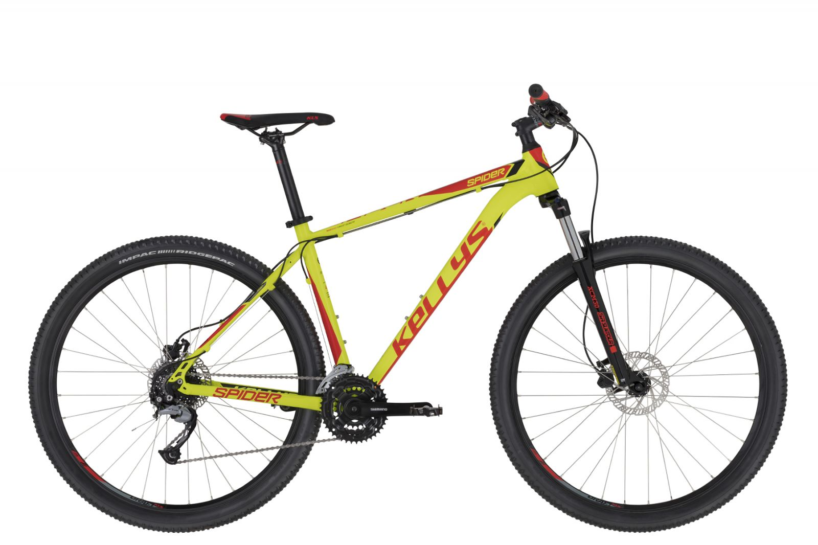 "KELLYS Spider 30 Neon Lime L 29"" Kellys Bicycles"