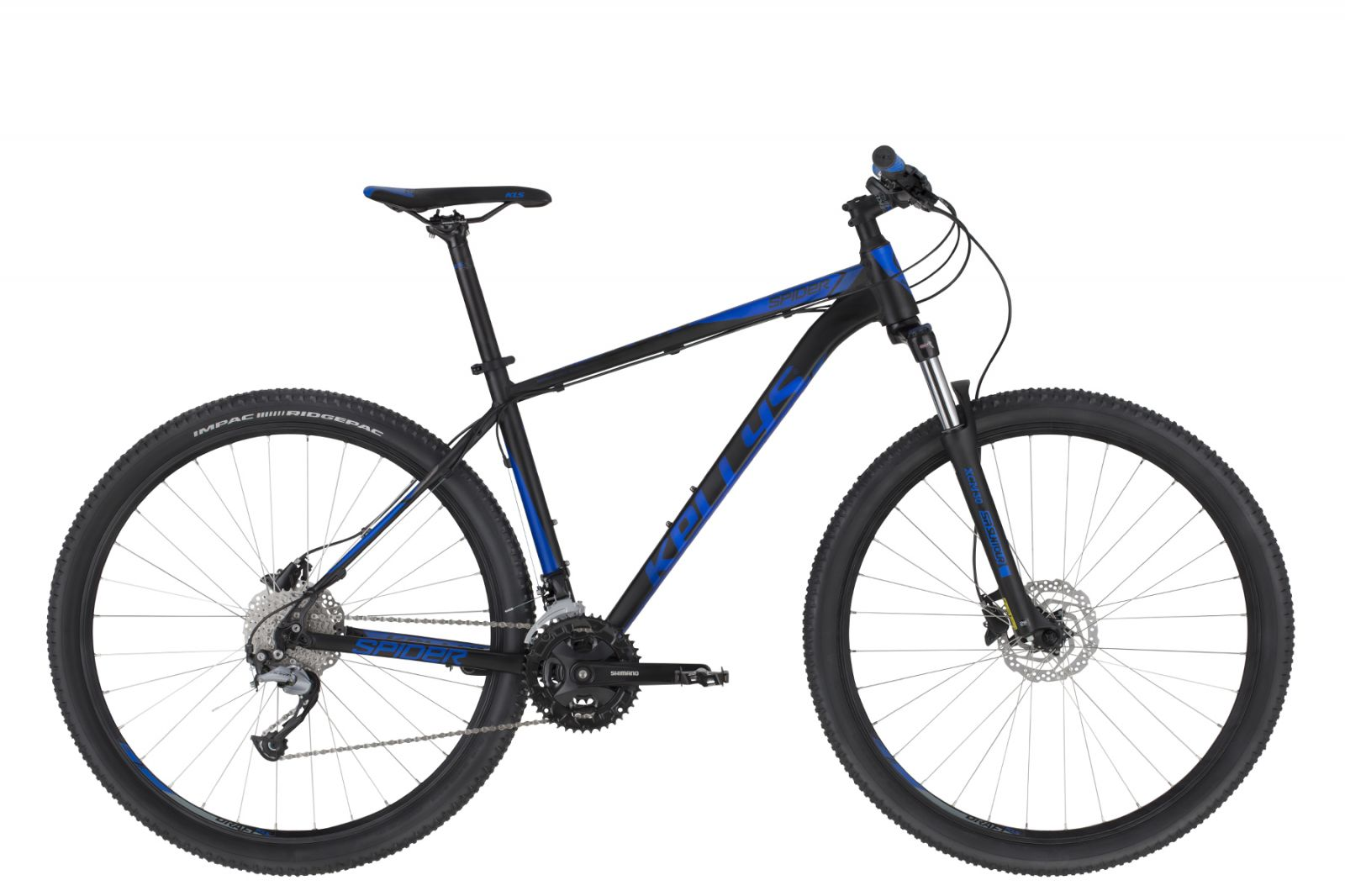 "KELLYS Spider 50 Black Blue M 27.5"" Kellys Bicycles"