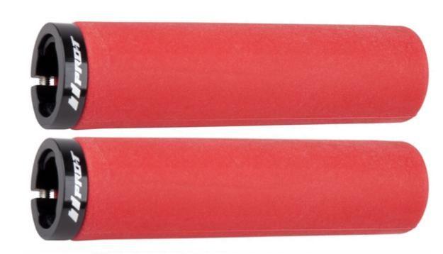 Gripy ProT 016 silicon zajišťovací šroubky červené 2ks set Pro-T