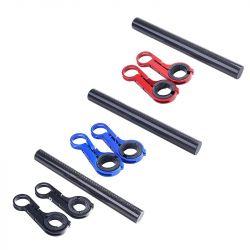Držák na řídítka AL posuvná tyčka 20cm 22.2-32mm extender černá / Carbon Bike tuning centrum