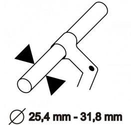 Náhradní držák k brašnám na řidítka Sport Arsenal 310, 445, 509 a 510 Sport Arsenál