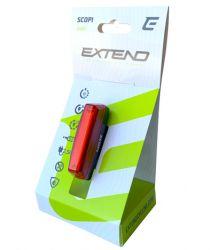 Svetlo zadní Extend SCOPI 25 lm USB brzdový senzor !