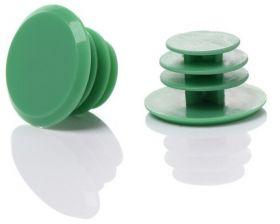 Zátky do řídítek špunty set 2ks zelená