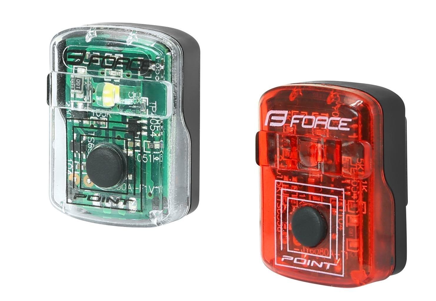 Blikačky sada FORCE POINT USB přední+zadní
