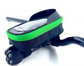 """Brašna Vape Transformer 6.5"""" na řídítka pro smartfone zelená"""