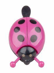 Zvonek beruška Pro-T na jízdní kolo růžová