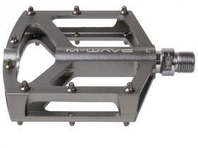 """Pedály M-wave AL CNC CR-MO """"Y"""" průmyslová ložiska titanová"""