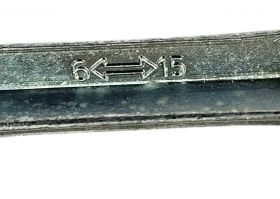 Multiklíč Kost na matice 6 - 15 Fe stříbrný Crops