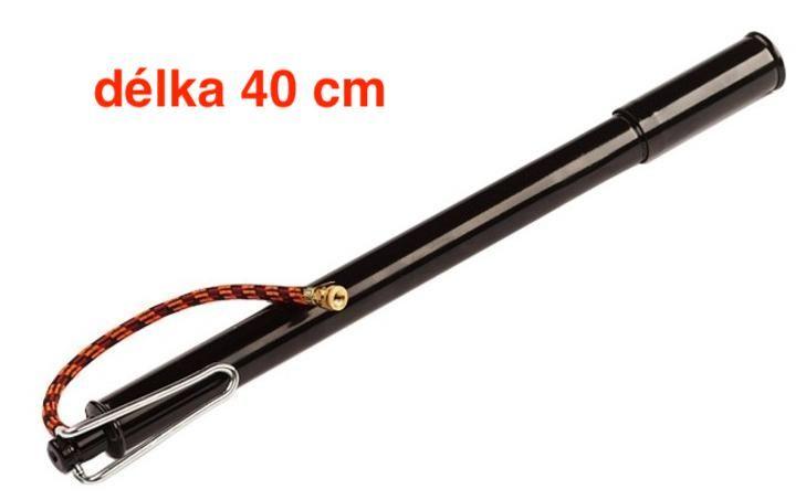 Pumpička Klasická hustilka VELOBEL smalt DV VELO černá 40 cm