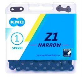Řetěz KMC Z1 1Speed + spojka Z1 Wide