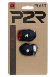 Sada bezpečnostního osvětlení P2R FREYO 3f black
