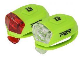 Sada bezpečnostního osvětlení P2R FREYO 3f lime green
