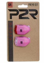 Sada bezpečnostního osvětlení P2R FREYO 3f pink