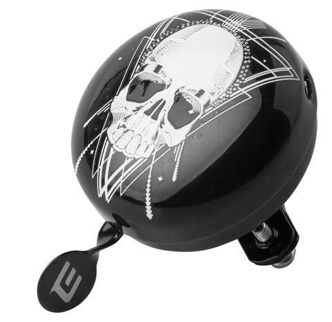 Zvonek Extend TILONG black skull