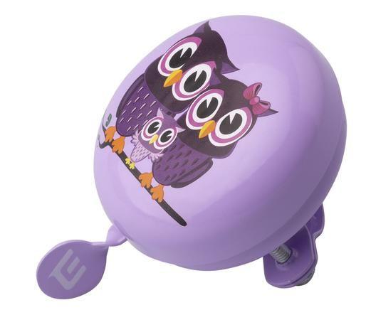 Zvonek Extend TILONG purple owl