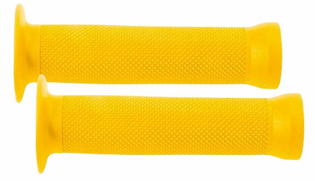 Gripy galaxy BMX gumová 130mm žlutá