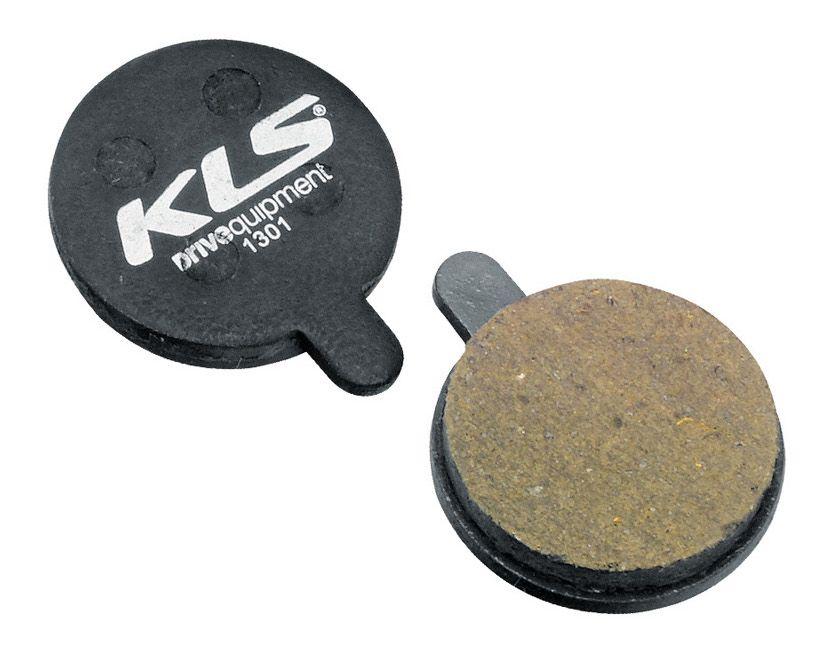 Brzdové destičky KLS D-13, organické (pár) kellys