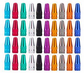 Čepičky na ventilek BTC-01 CNC FV elox 10colors 2ks černá a2z